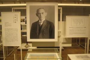 東洋陶器(現TOTO)株式会社の初代社長大倉和親。大正・昭和時代を代表する名実業家です。