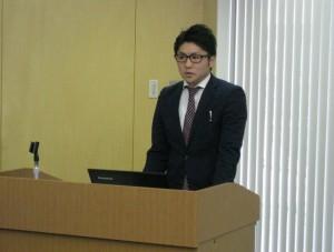 落ち着いたわかりやすい説明をする講師の吉武 頌一朗さん。ありがとうございました。